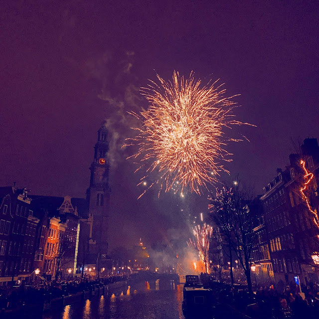 Amsterdam at New Years