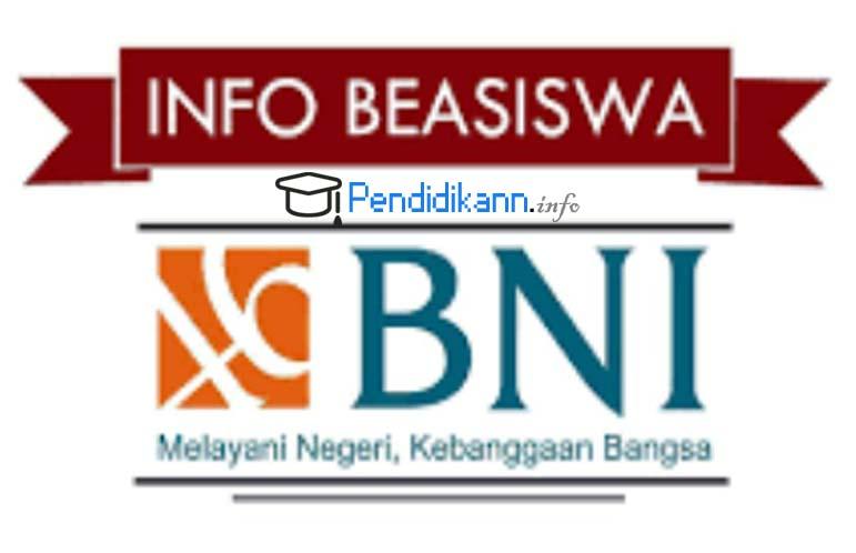 Informasi Pendaftaran Online Beasiswa Bank BNI Terbaru