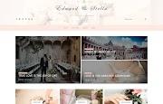 (Free)(Premium) Edward & Stella Blogger Template Themes