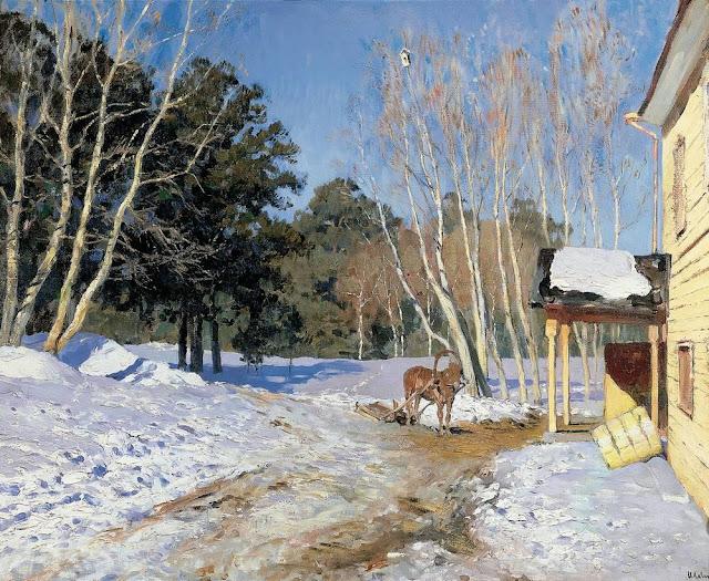 Исаак Ильич Левитан - Март. 1895