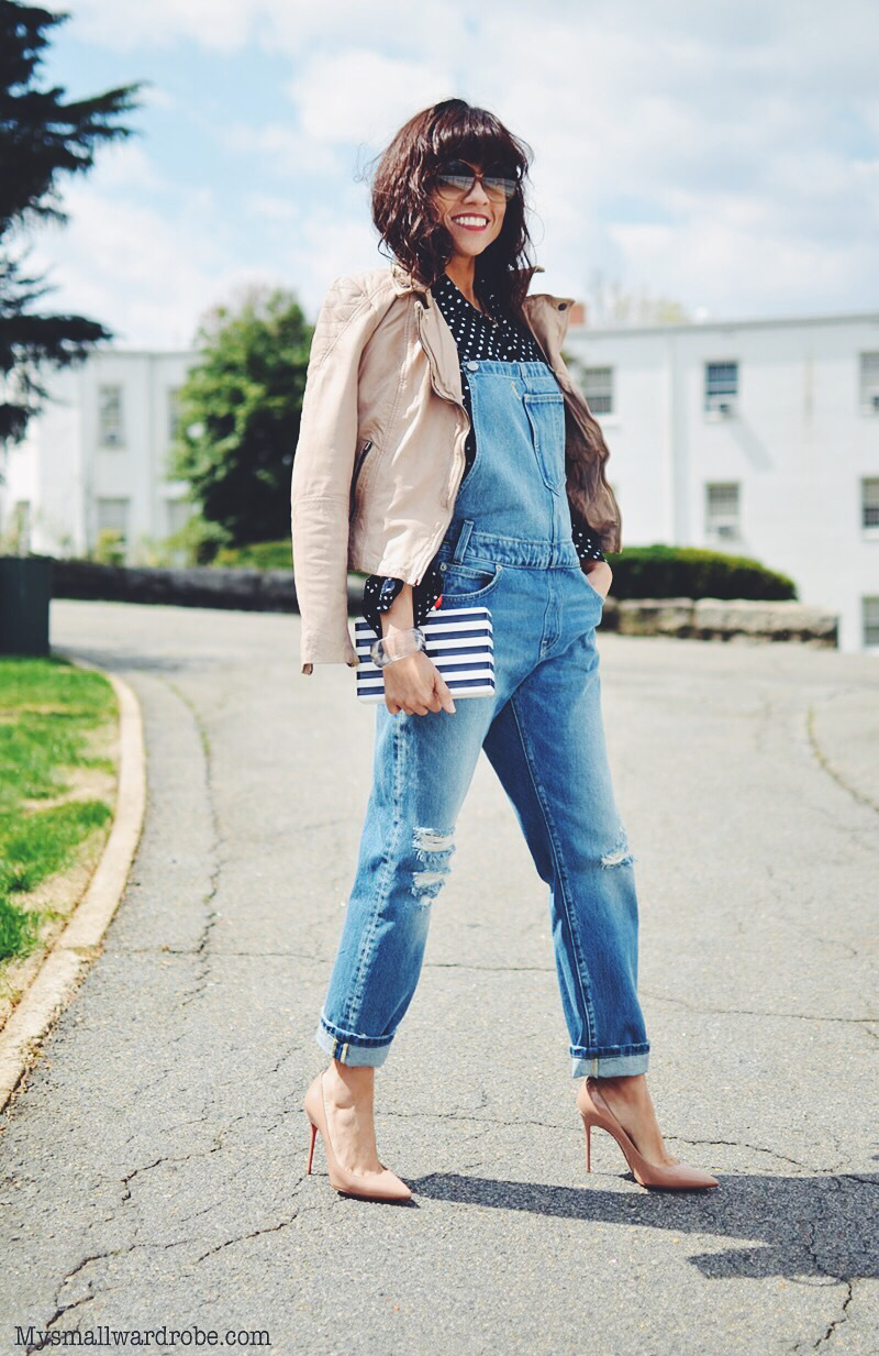 Overalls street style outfit