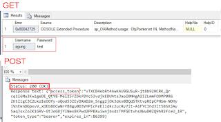 Cara GET dan POST REST API Menggunakan SQL SERVER