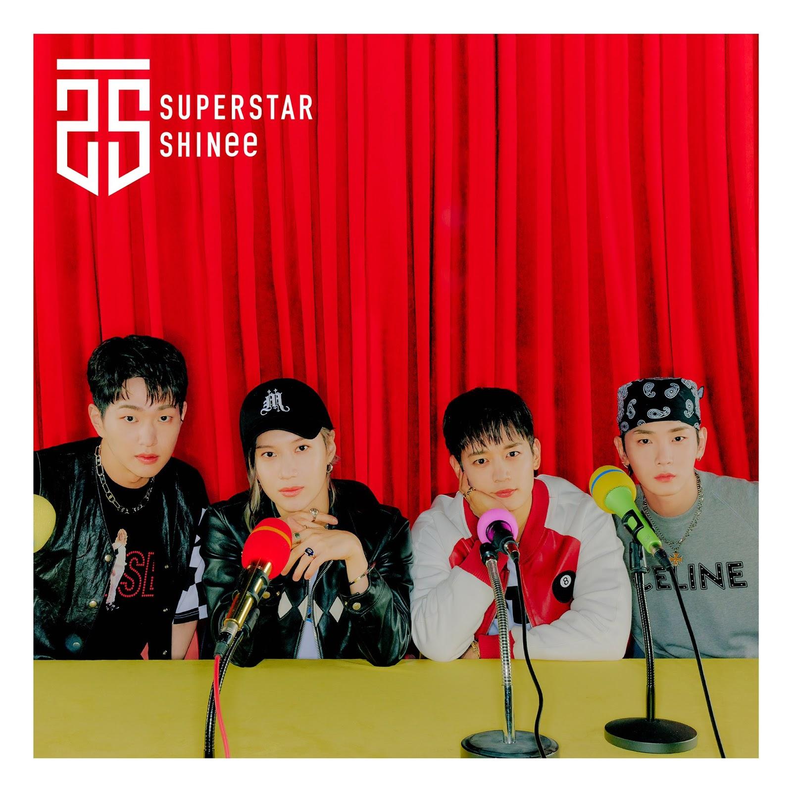 SHINee para SUPERSTAR, trabajo japonés 2021