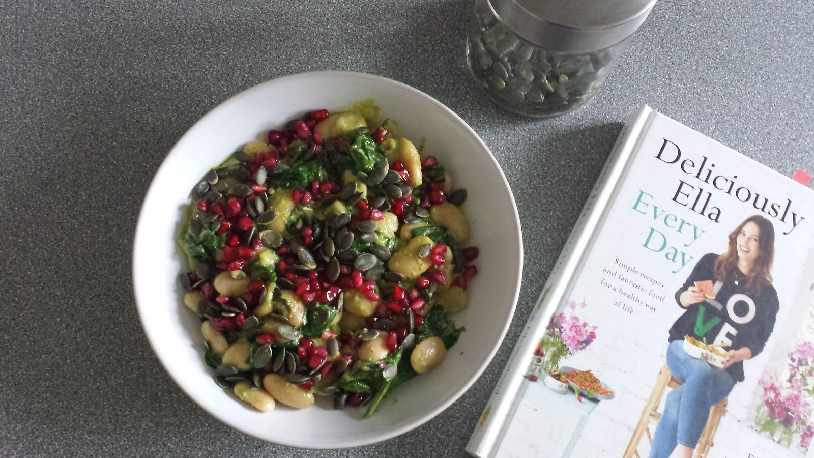 Deliciously Ella Warming Pesto Butter Beans