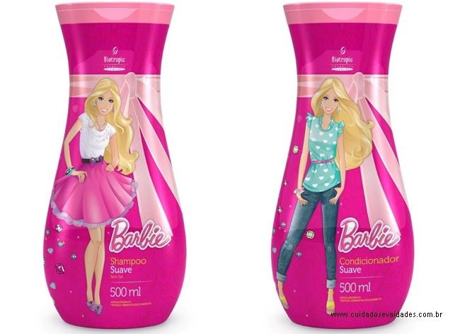 Linha Capilar Barbie
