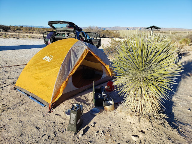 camping carlsbad caverns new mexico