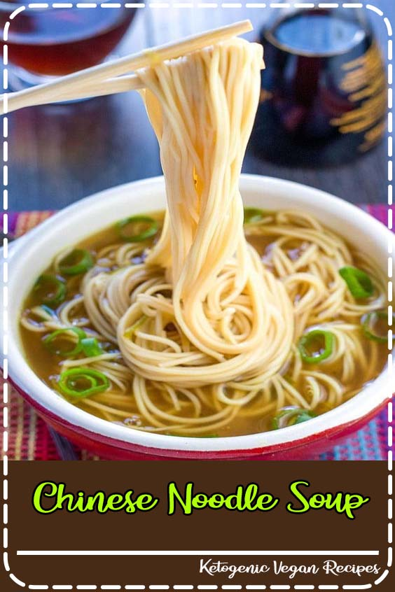 Ginger Garlic Noodle Soup with Bok Choy is a nutritious Ginger Garlic Noodle Soup with Bok Choy