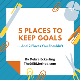 Where to Keep Your Goals