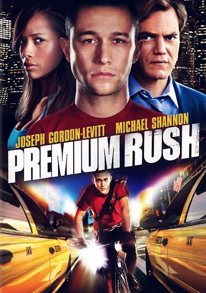 Poster of Premium Rush 2012 720p Hindi BRRip Dual Audio Full Movie Download