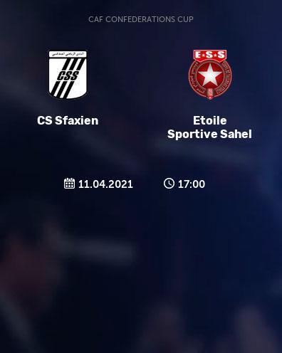 بث مباشر مباراة النجم الساحلي والصفاقسي التونسي