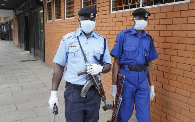 Police Patrol in Nairobi