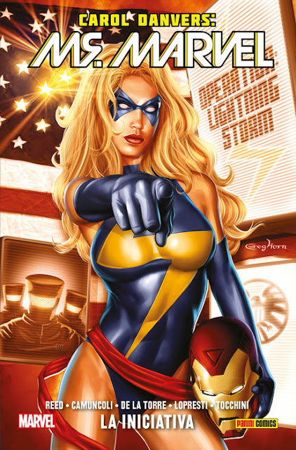 100% Marvel HC. Carol Danvers: Ms. Marvel Vol 2. La Iniciativa.