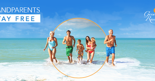 Grandparents Stay FREE at Generations Riviera Maya, Mexico!