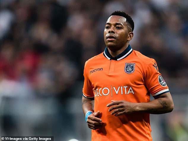 Brazilian politician calls for footballer Robinho to be jailed 'immediately' for his role in a gang rape in Italy