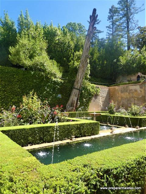 qué ver en el Generalife Alhambra Granada