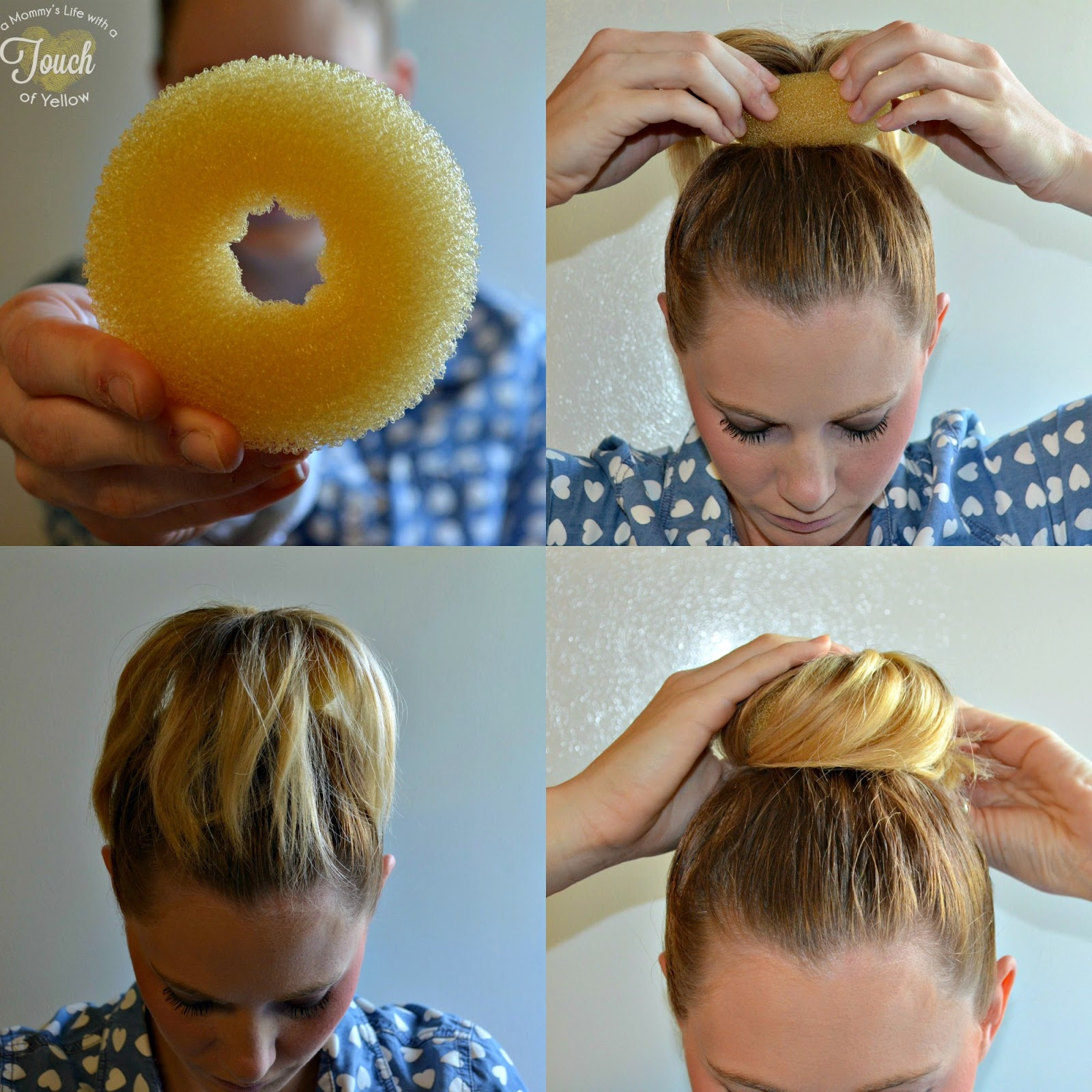 A Mommy S Life With Touch Of Yellow Easy Summer Top Bun