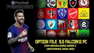 PES 2020 PC Option File Season 2020/2021 by Falcon12