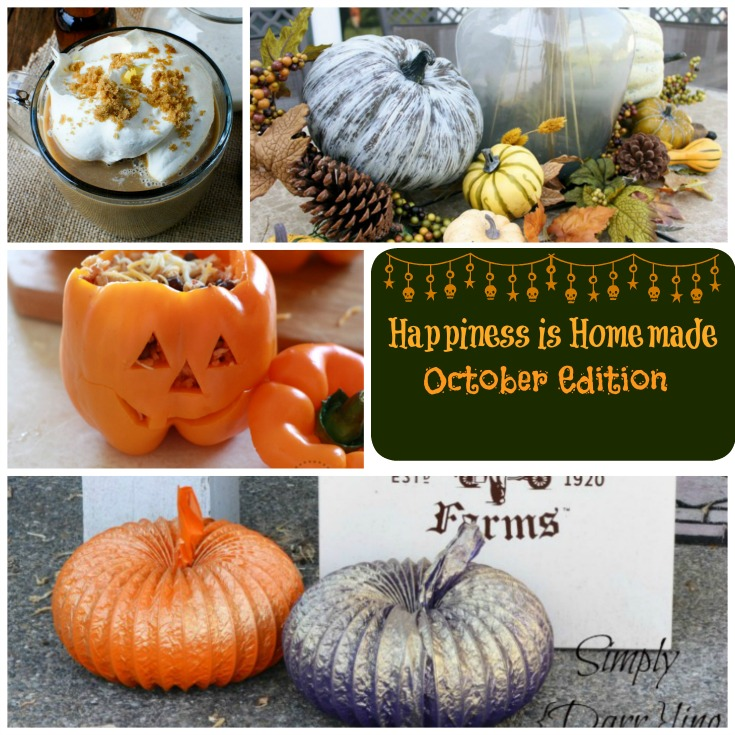 Happiness is Homemade October