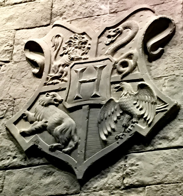 Harry Potter coat of arms from Warner Bros Studio Tour, England