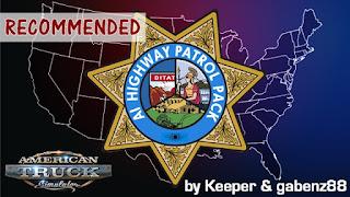Ai Highway Patrol Pack for American Truck Simulator