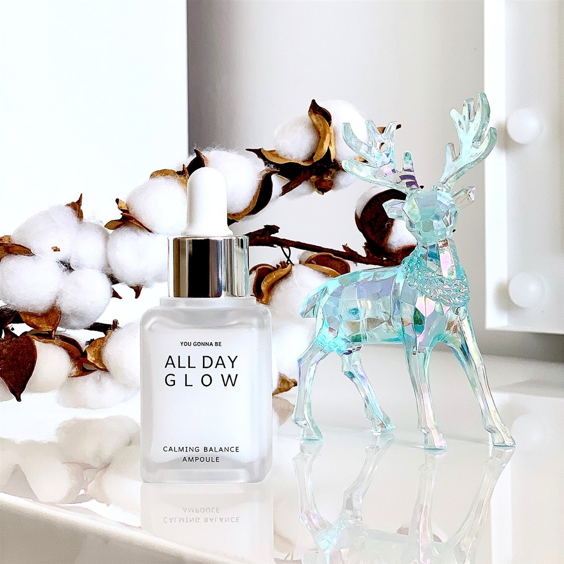 All Day Glow Calming Balance Ampoule blog