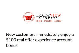 Tradeview $100 Forex No Deposit Bonus
