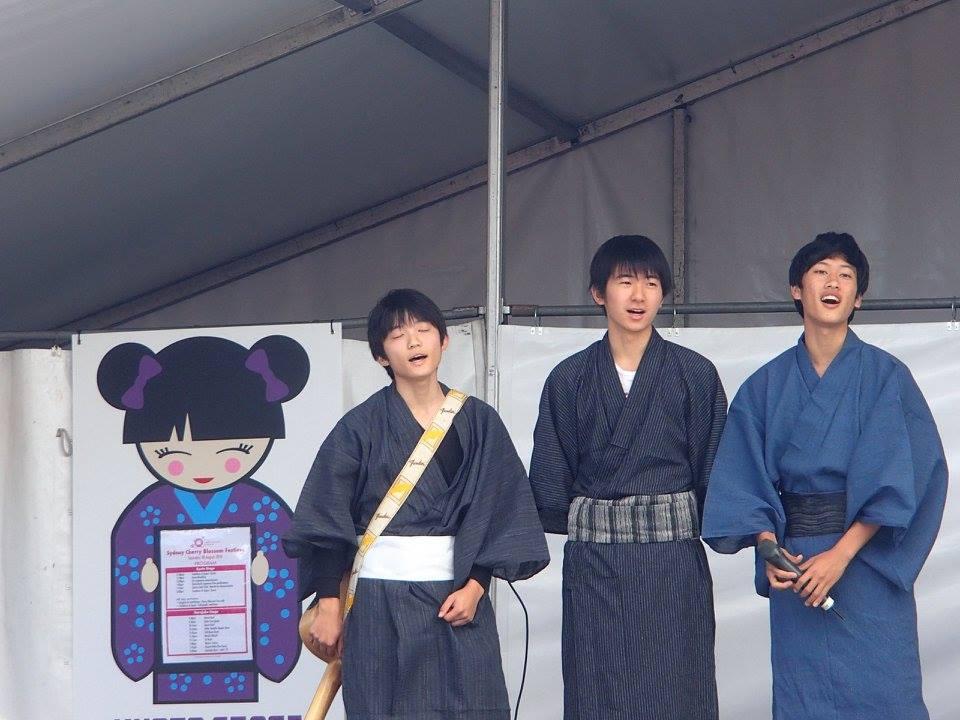 sumo wrestling di cherry blossom festival sydney