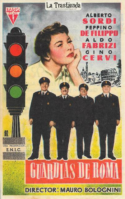 Guardias de Roma - Programa de Cine - Alberto Sordi - Peppino de Filippo