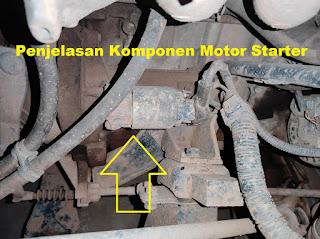 Penjelasan Motor Starter Beserta Fungsinya