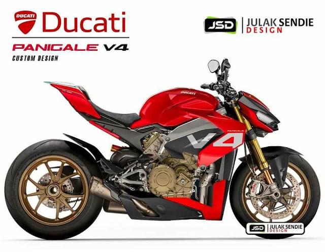 Ducati Streetfighter Panigale V4 Resmi Diluncurkan