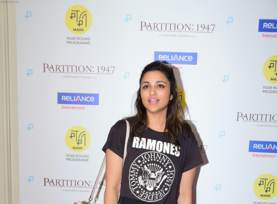 Parineeti Chopra at the Screening Of Film Partition 1947