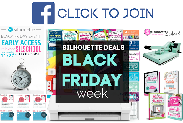 Silhouette Gifting, Silhouette for Beginners, accessories silhouette, silhouette tools, silhouette accessories, Black Friday