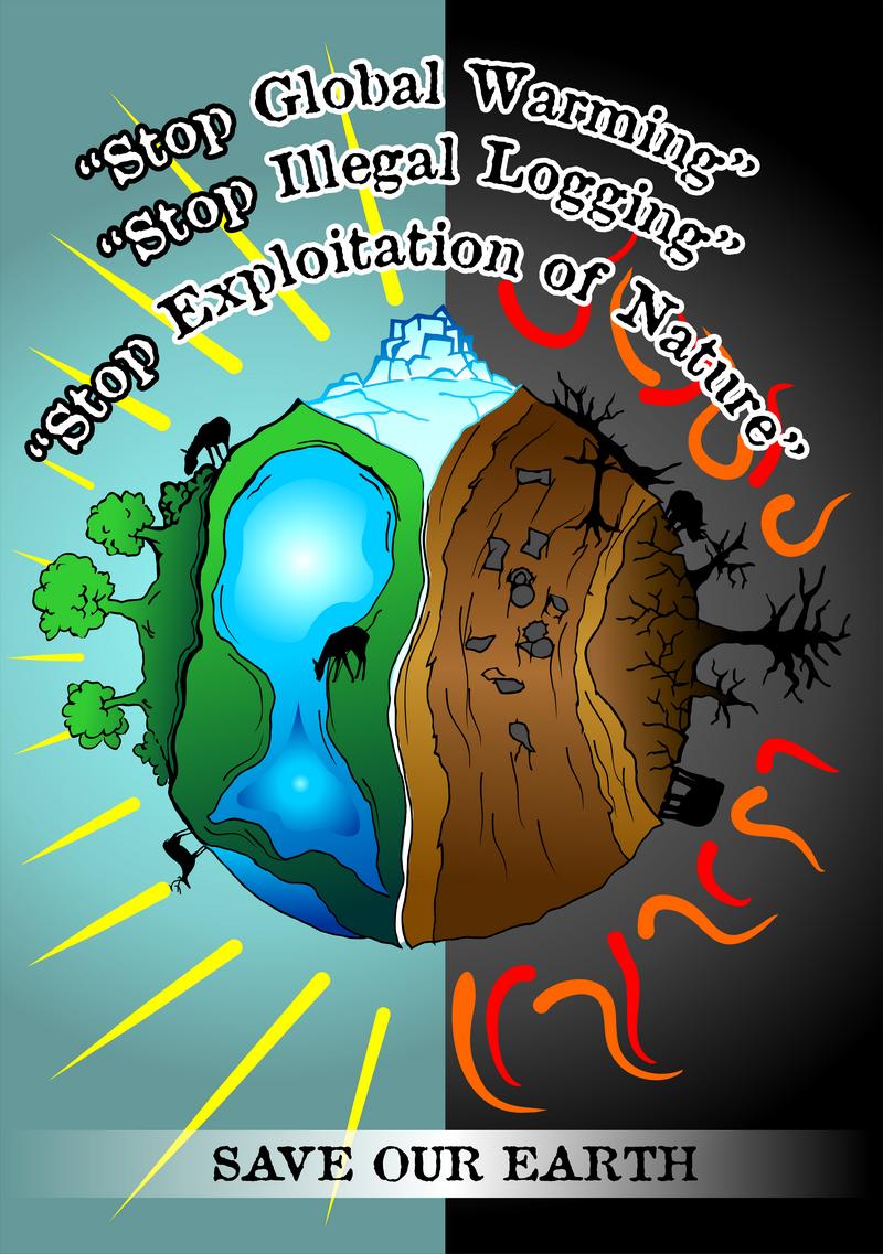 Download 76 Gambar Poster Global Warming Keren Gratis