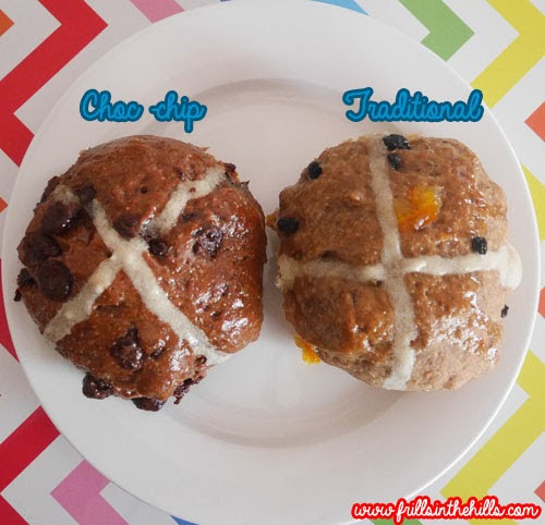 Thursday, April 2 RECIPE: Traditional and Choc-chip hot cross buns ...