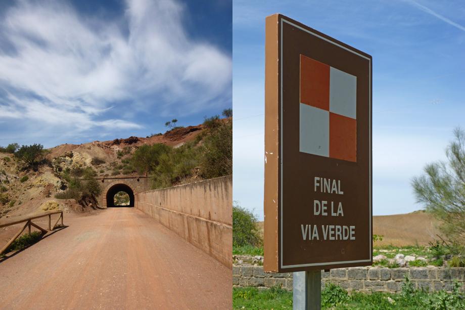 Ynas Reise Blog | Spanien | Olvera | Via Verde de la Sierra | Tunnel