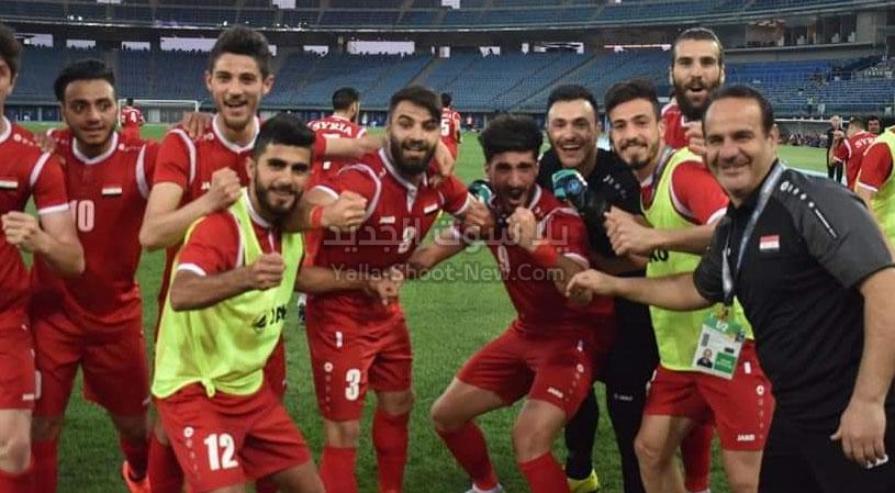 سوريا تحقق الفوز على منتخب اليابان وتتصدر المجموعة الثانيه من كأس آسيا تحت 23 سنة