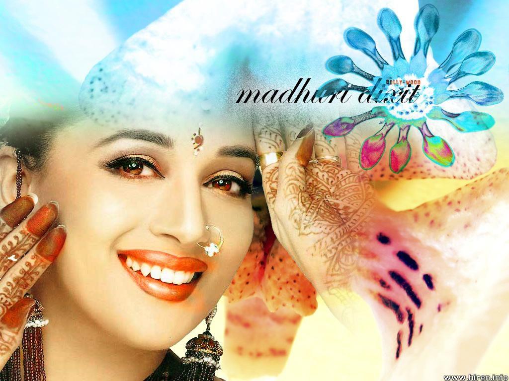 Madhuri Dixit Hot Hd Wallpaper  Hd Wallpaper-6078