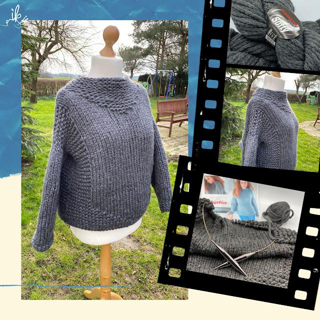 Pullover stricken aus Austermann Softy