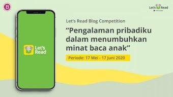Blog competition dengan tema pengalaman pribadiku dalam menumbuhkan minat baca anak