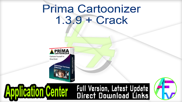 Prima Cartoonizer 1.3.9 + Crack