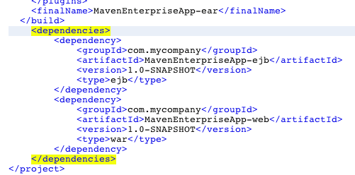 Maven Pom.xml File