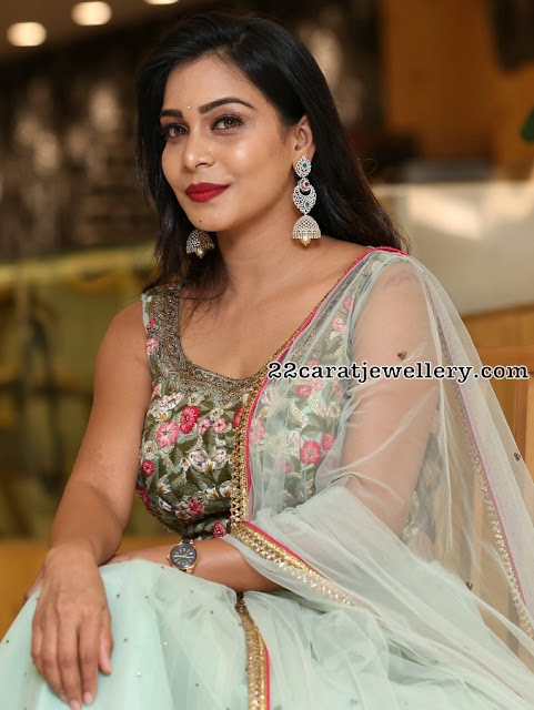 Actresses in Gold and Diamond Jhumkas