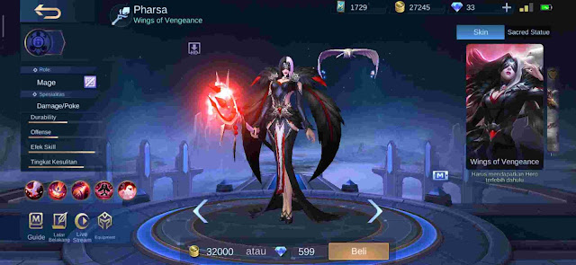 5+ Hero Mage OP Tersakit Season 16 Mobile Legends 2020
