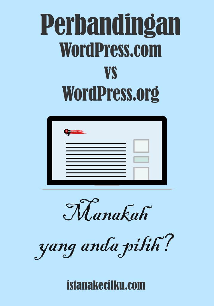Perbandingan WordPress.com vs WordPress.org