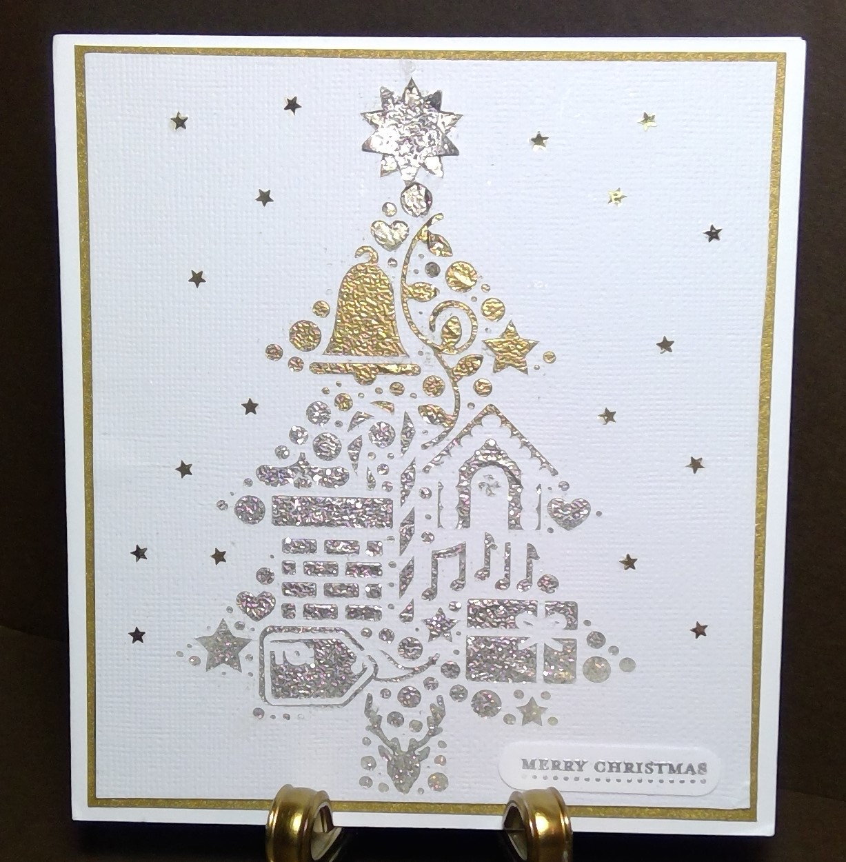 Cotswold Crafter: My Christmas Card From Lilian