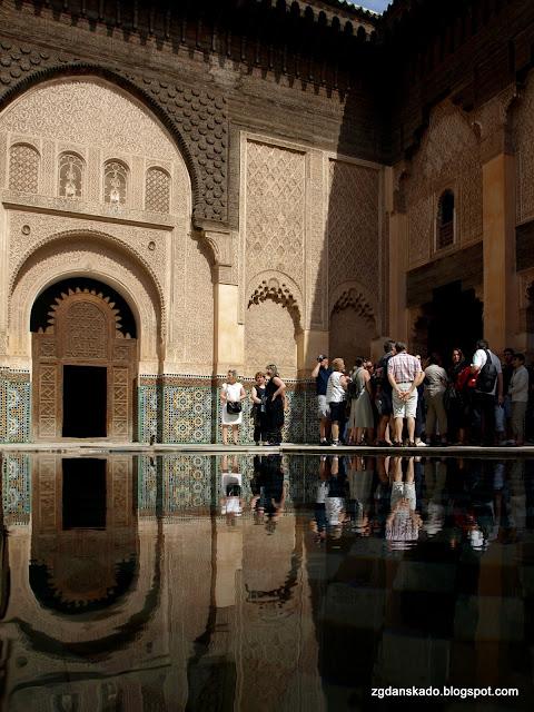 Marrakesz - Medresa Ben Youssufa