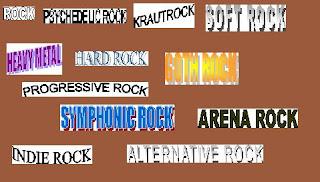 Rock zenék