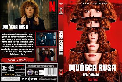 CARATULA MUÑECA RUSA - RUSSIAN DOLL - 2019 - TEMPORADA 1 [COVER DVD]