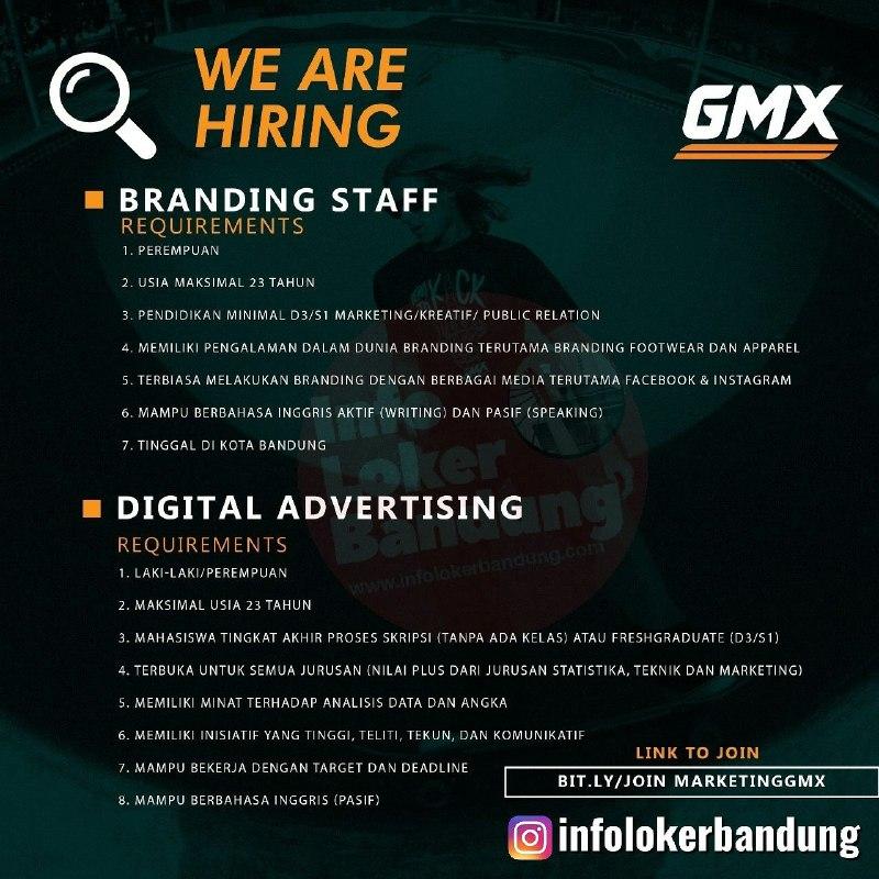 Lowongan Kerja Geoff Max Footwear Bandung November 2019