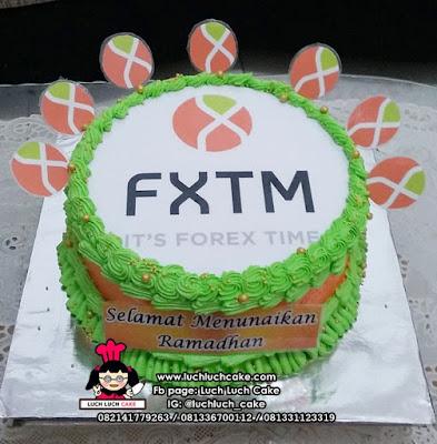 Kue Tart Logo Kantor - FXTM It's Forex Time